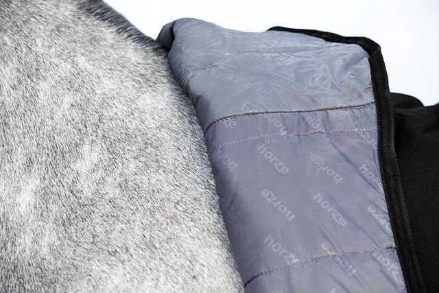 horze avalanche regendecke mit fleece. Black Bedroom Furniture Sets. Home Design Ideas